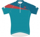 Transalp Trikot Damen BlueGreen Finisher